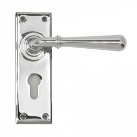 """Emerson"" Bright Chrome Euro Lever Door Handle"