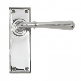 """""""Emerson"""" Bright Chrome Traditional Lever Door Handles"""