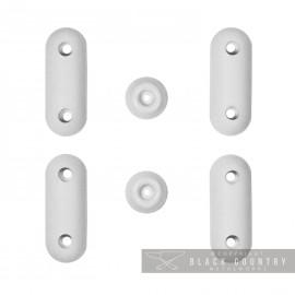 White Rubber Buffers