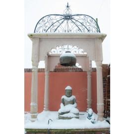 """Buddha's Seat"" Stone Garden Temple Gazebo"