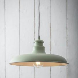 """""""Buxton"""" Hanging Barn Light in Situ"""