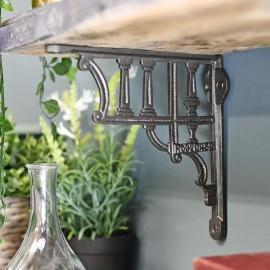 Cast Iron Greek Column design Shelf Bracket