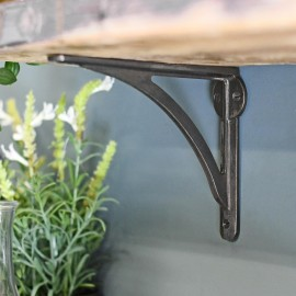 Natural Iron simplistic designed shelf bracket