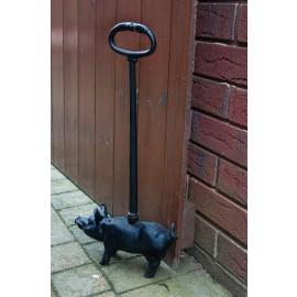 Door Porter Cast Iron Pig