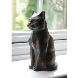 Cast Iron Sitting Cat