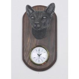 Siamese Cat Clock