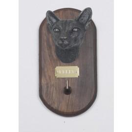 Siamese Cat lead / Collar holder
