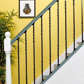 """""""Cavendish"""" Double Fine Twist Stair Spindle"""
