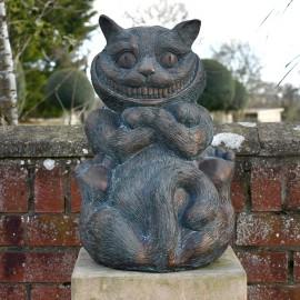 """Wonderland """"Cheshire cat"""" Garden Ornament"""