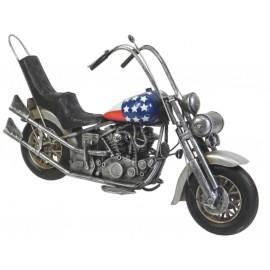 Chopper Motorcycle Replica Ornament