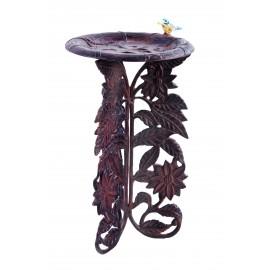 """Woodson Grove"" Sunflower Bird Bath"
