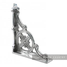 """Delpi"" Aluminium Shelf Bracket 31 x 28cm"