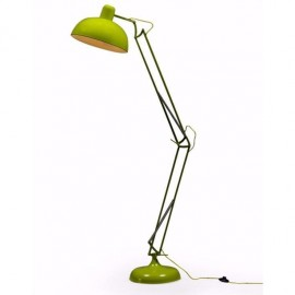 Classic Design Extra Large Floor Lamp in Lime Green