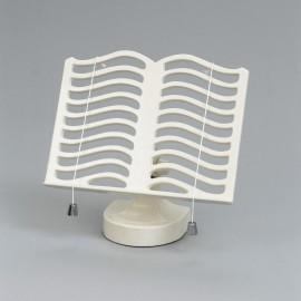 Cast Iron Cook Book Stand - Cream