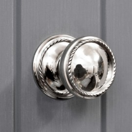 Bright Chrome Luxury door knob