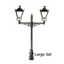 Double Headed Dorchester Lamp post
