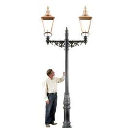 Rochester Double Lamp Post - 3.6m