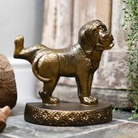 Beautiful Bronze finish heavy duty Dog Door Stop