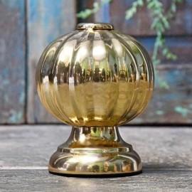 Polished Brass Globe Door Stop