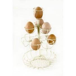Dainty Delia Egg Rack & Holder