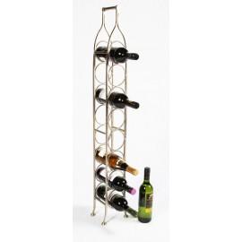 'Monticello' Space Saving Wine Rack (Small)