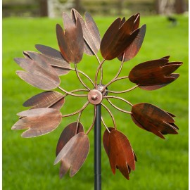 """""""Floral Magic"""" wind spinner"""
