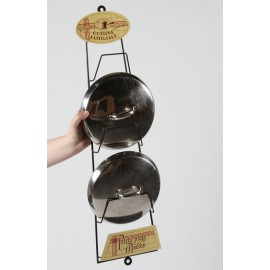 """""""Cuisine Familiale"""" French Pan Lid Holder"""