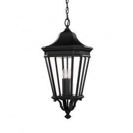 """""""Bramford Bank"""" Gas Lamp Inspired Hanging Porch Lantern"""