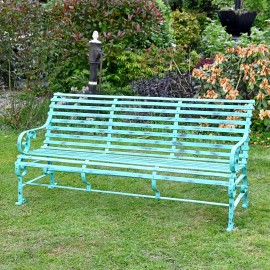 """Robust """"Chatham Park Bench finished in Green"""