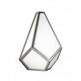 """Premwell House"" Glass & Metal Artistic Wall Light"