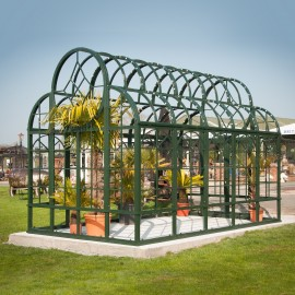 """Broagh Hall"" Large Greenhouse Style Garden Gazebo"