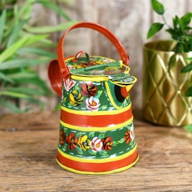 Hand Painted Traditional Narrowboat Style Watering Can