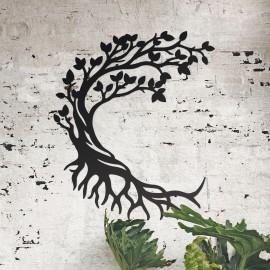 Large Half Moon Tree of Life Wall Art