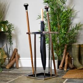 Simplistic design umbrella and walking stick stand