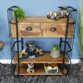 Industrial Caged Cabinet in Situ