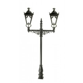 Double headed Gothic Lamp post