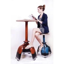 """Tunkwood Farm"" Rustic Spade Table & Chairs"