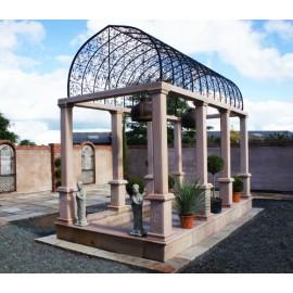 """""""Temple of Peace"""" Garden Gazebo"""