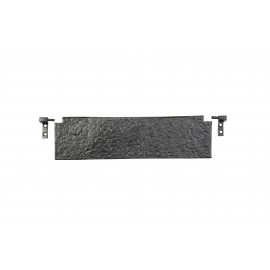 Large Traditional Black Iron Simplistic Internal Door Letter Flap