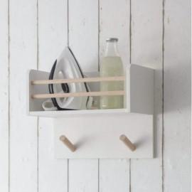 Pine & Beech Wood Multi-Purpose Ironing Shelf