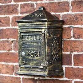 Antique Bronze Bantock post box