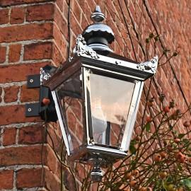 Victorian Wall Lantern On Corner Bracket