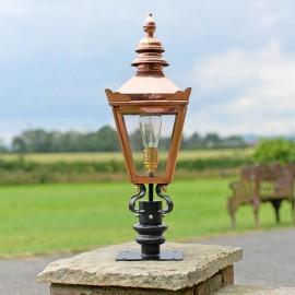 Harrogate Pillar Light and Lantern Set 64cm