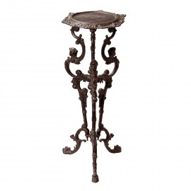 'The Chester' Long Gothic Rustic Cast Iron Side Table