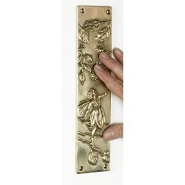 """""""Ferngorn Forest"""" Leaf design Finger Plate"""