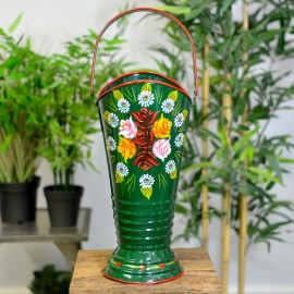 """""""Daintree"""" Coal Hod or Umbrella Stand From the Front"""