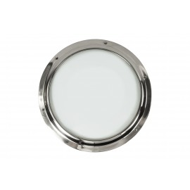 Bright Chrome Port Hole with Clear Glass