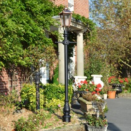 Victorian Lamp Post - Copper 2.7m