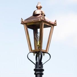 Copper Victorian Lantern in Situ