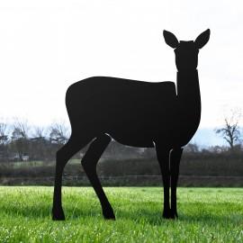 Black Large Doe Silhouette